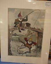Original Vintage Advert mounted ready to frame Swan Soap 'It floats' advert 1903