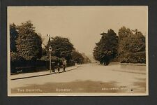 Bowdon - The Downs - real photographic postcard in Neils series no.2097