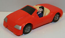 "1997 Lois Lane Red Car 4"" Burger King Action Figure Superman DC Comics"
