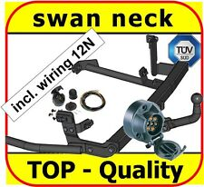 Towbar & Electric 12N Fiat Ulysse I Scudo I 1994 to 2001 1994 to 2006 swan neck