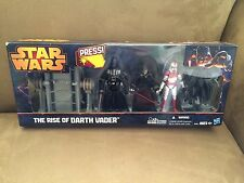 STAR WARS THE RISE OF DARTH VADER EXCLUSIVE SET WITH LIGHT UP SABER