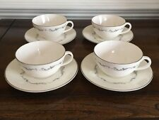 "Royal Doulton ""Coronet"" 8 Piece Set (4 Cups And 4 Saucers)"