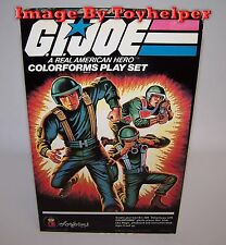Vintage GI Joe A Real American Hero Colorforms Play Set Unused in Box