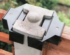 "Stop Fence Panels From Rattling  Blowing Out Wind Gale 5"" 125mm Concrete Posts"