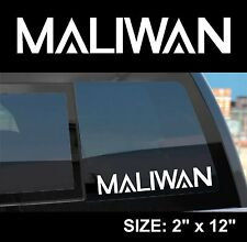 "Borderlands 2 / Pre-Sequel ""Maliwan"" Gun Manufacturer Sticker Decal"