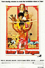 ENTER THE DRAGON movie poster LARGE FRIDGE MAGNET- BRUCE LEE!