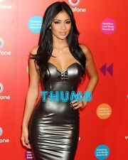Nicole Scherzinger - 10x8 inch Photograph #010 in Tight Silver PVC Dress