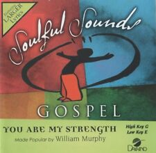 You Are My Strength Accompaniment CD By William Murphy 2016 Soulful Sounds NEW