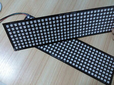 8*32 256 LEDs Full color WS2812B WS2812 5050 RGB Flexible Pixel Panel Light DC5