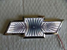 Chrome and WHITE LED  Badge Emblem Lamp For CHEVROLET - Free US Shipping