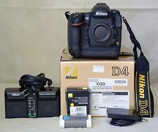 Nikon D4, excellent condition, slightly used