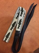 Fly Fishing Trout Fish BEADED HAT BAND Bass CAMO HATBAND