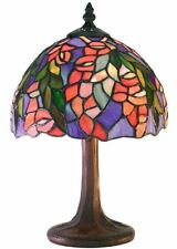 Bedroom Lamp For Nightstand Tiffany Style Light Small Table Accent Floral NEW