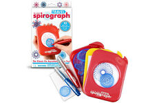 Original TRAVEL SPIROGRAPH Set kit Kahootz art pad pen Toy mini Pocket NEW