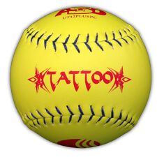 TATTOO  SOFTBALLS 12 inch USSSA PLUS SOFTBALLS   1 DOZEN