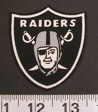 NFL Oakland Raiders Fabric PATCH Iron On Applique Logo DIY Craft Football Sports