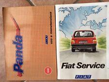 USO E MANUTENZIONE FIAT PANDA 750, DIESEL, 4X4 + FIAT SERVICE