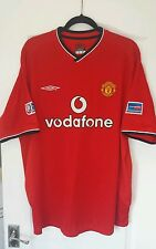 Man Utd Football Shirt Solskjaer 20 Charity Shield XL