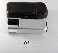 Vintage 1950s Minox Spy Camera Bulb Flashgun Model B Clean w Leather Case A1