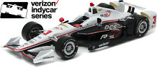 GREENLIGHT 2016 #3 HELIO CASTRONEVES REV RECREATION IZOD INDY 1/18 CAR 10994