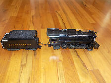 Polar Express Lionel Locomotive and Tender for Train Set #7-11022 G-Scale