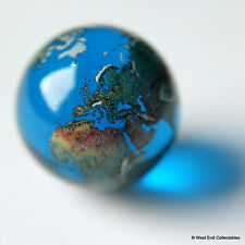 Planet Earth Marble - 22 Millimetres Glass - 3D World Atlas Navigation Aid