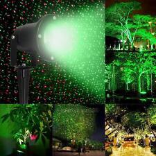 LED Laser Projecteur Eclairage Scène Extérieur Jardin Fête Noël Décor Rouge&Vert