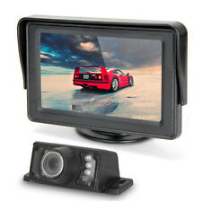 "New 7 LED IR Night Version Car Rearview Camera + 4.3"" TFT LCD Screen Monitor Kit"