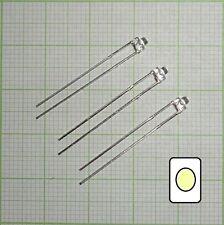 10X wasserklar Led (1,8mm)  warmweiß + Wiederstand - E102