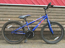 APOLLO XC20 Boys Girls Mountain Bike Bicycle Cycle Blue Single Speed 20 ins Town