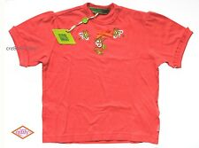 Oilily ✿ NWT✿ Girls Deep Orange Embroidered Top Tee sz 92 / 3 - 4 ✿ Designer
