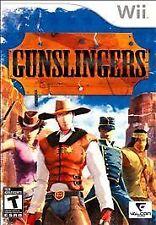 NEW Gunslingers Gun Slingers Nintendo Wii Y-FOLD SEALED