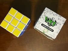 New Lanlan White 3x3x3 Magic Cube Puzzle Spring Speed Twist Rare Brainteaser Toy
