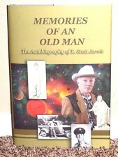 MEMORIES OF AN OLD MAN AUTOBIOGRAPHY OF R. SCOTT JARVIE 2013 1STED LDS MORMON HB
