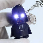Star Wars Darth Vader 3D Figurine Light Up LED With Sound Men's Keyring Keychain