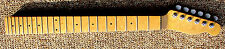 TELECASTER Bird's Eye maple 22 fret neck w/ lacquer finish & Sperzel tuners