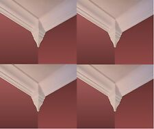 "Crown Molding Corner Blocks 4 pack fits 3"" up to 3 5/8"" crown"