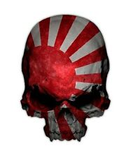 Japan Skull Decal - Imperial Japanese Flag Sticker Graphic Kamikaze