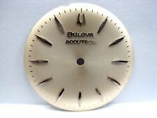"""Antique Bulova  Accutron Watch  """"Silver""""  Dial 28 mm in Size."""