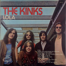 """12"""" LP the KINKS-LOLA-k3409-washed & cleaned"""