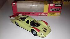 Solido brasilien bresilien Porsche 908 green V Near Mint in Box very rare!