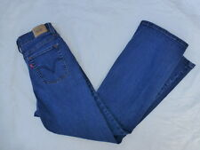 WOMENS LEVIS 512 PERFECTLY SLIMMING BOOTCUT JEANS SIZE 10Px28 #W775