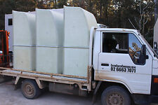 Fibreglass shower cubicle to suit TOYOTA COASTER and similar motorhome or bus