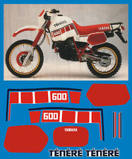 YAMAHA XT 600 Z TENERE 1VJ 86  - adesivi/adhesives/stickers/decal