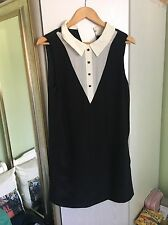 100% Authentic Marc By Marc Jacobs Silk Black White Dress £32