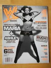 WWE female wrestling magazine/Diva MARIA & ASHLEY 11-06