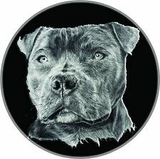 Spare Wheel Cover Sticker Staffordshire Bull  All 4x4 Land Rover Jeep Discovery