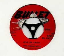 "BOSS REGGAE 1970 ❤ REGGAE BOYS - Give me faith / Pupa live on top ❤ 7"" 45rpm"