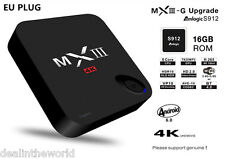 MXIII - G II 2GB/16GB Octa Core Android 6.0 Smart TV BOX Dual-band WiFi EU PLUG