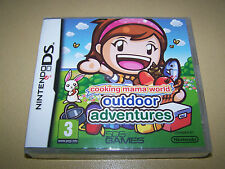 Cooking Mama World: Outdoor Adventures (Nintendo DS) **New & Sealed**.